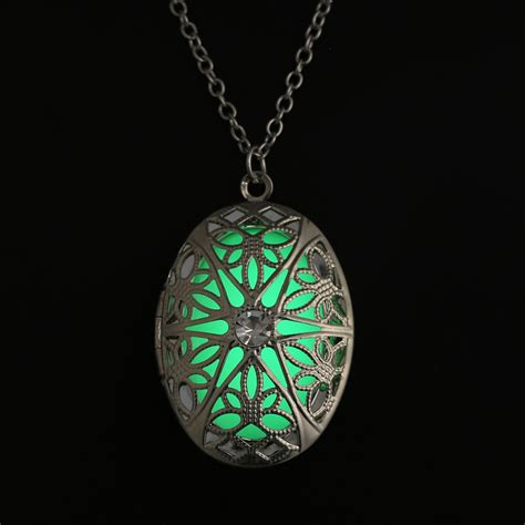 lockets for jewelry steunk pretty magic locket necklace glow in