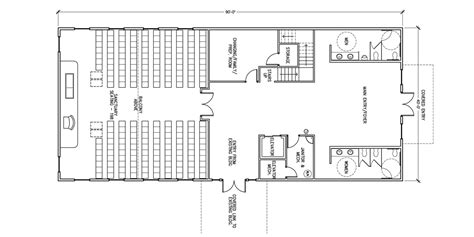 funeral home floor plan layout commercial steel buildings general steel