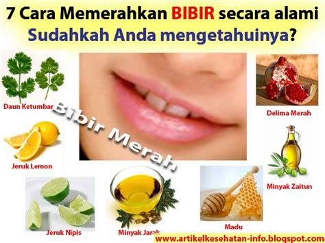 cara membuat oralit secara alami 7 cara memerahkan bibir secara alami info kesehatan