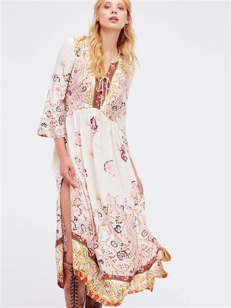 if you only knew maxi dress boho hippie fashion maxi dresses vintage