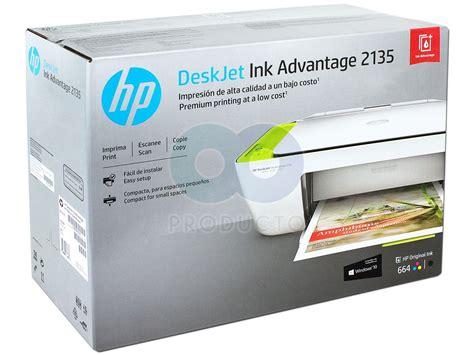 Tinta Hp 2135 Multifuncional De Inyecci 243 N De Tinta A Color Hp Deskjet
