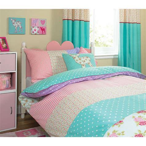 bedding sets asda whimsical patchwork duvet single bedding asda direct
