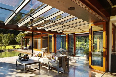 Chalet Style House by Oriental Inspiration Asian Style Sunrooms Bring Light