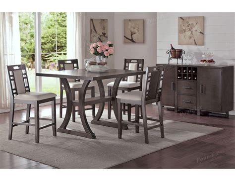 height dining table set lindsay counter height dining table set