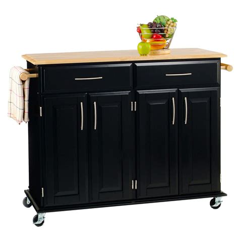 solid wood kitchen island cart 3512h x 4814w x 1814d solid wood top kitchen island cart