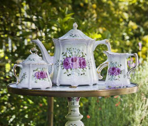 tea table set painted tea set matches limoges tea table