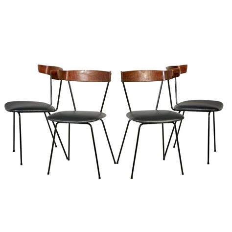 paul mccobb iron dining chairs set of four at 1stdibs