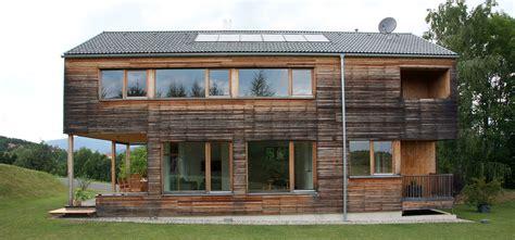 Haus Bauen Mit Grundstück 2632 by Fertighaus P1 Holzhaus Mit L 228 Rchenholzschalung Pichler