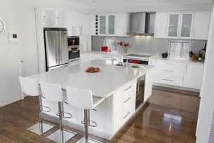 delightful Kitchen Designs With White Cabinets #1: Modern-Kitchen-with-White-Cabinets.jpg