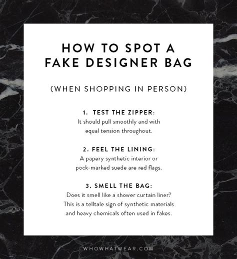 How To If Your Handbag Is Real Or by How To Spot A Designer Bag In 30 Seconds Flat