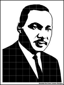 mystery grid drawing bundle martin luther king jr tpt