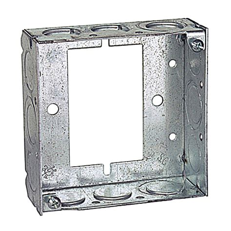 steel city 4 square extension ring steel city 531511234ub 4 in steel square box extension