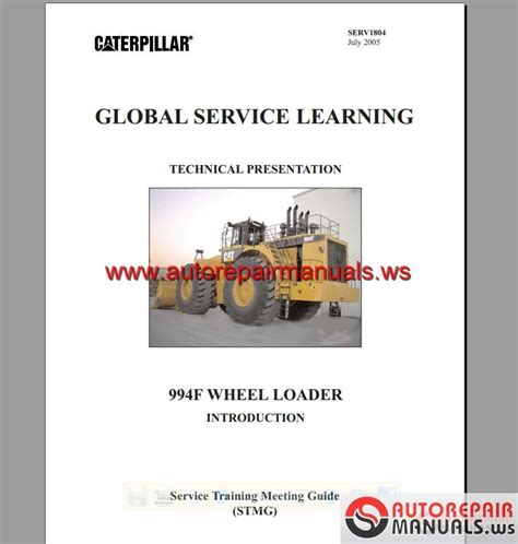 service manual how can i learn more about cars 1996 cat 994f global service learning auto repair manual forum heavy equipment forums download