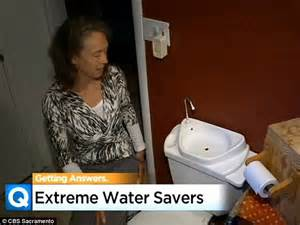 Water Saver Faucet Drought Leaves Californians Going To Extremes To Conserve