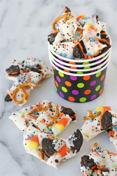 halloween candy bark glorious treats