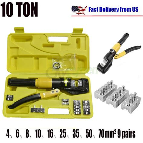 10 ton hydraulic wire battery cable lug terminal crimper 10 ton hydraulic wire battery cable lug terminal crimper