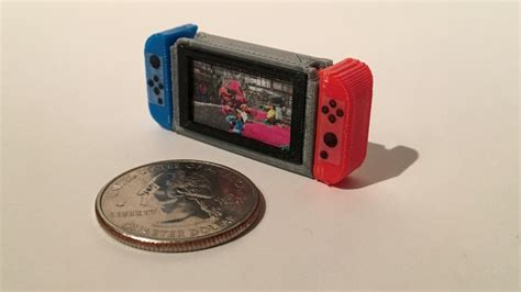 Design Tiny Home yes this is a tiny 3d printed nintendo switch is console