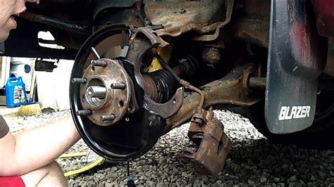 chevy blazer driver front abs sensor wheel bearing
