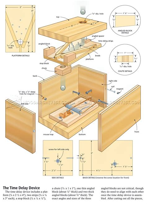 woodworking diy plans diy exploding box woodarchivist