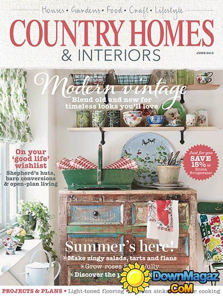 country home design magazines country homes interiors june 2015 187 download pdf