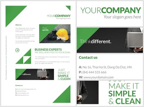 advertising poster templates free clean corporate a4 flyer poster template