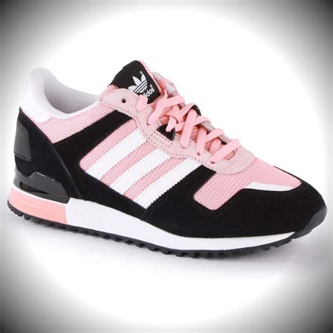 adidas sneakers classic womens adidas classic zx 700 sneakers black white pink