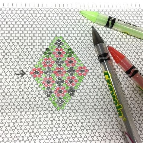 pattern paper beads useful free printable graph paper for different beading