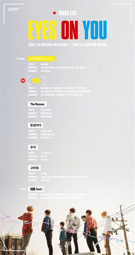 Are You On The List by Update Got7 Shares Preview Of Newest Mini Album Quot On