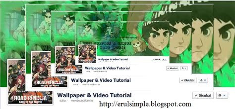 video tutorial unik time line facebook unik wallpaper and video tutorial
