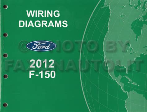 2012 ford f 150 truck wiring diagram manual original