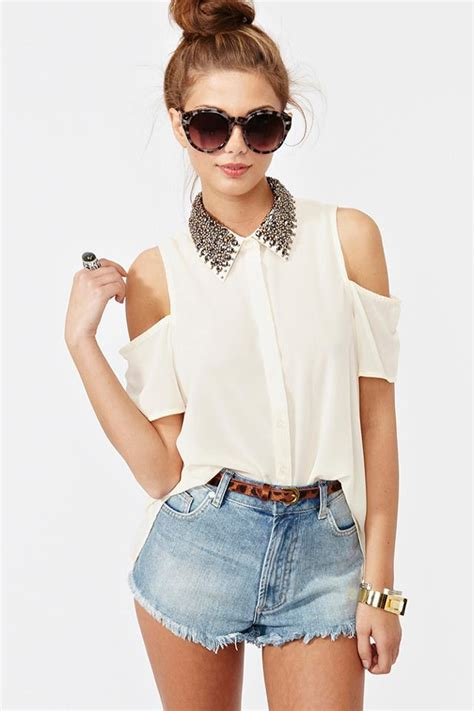 Five Cut Blouse the ultimate cool blouse from gal