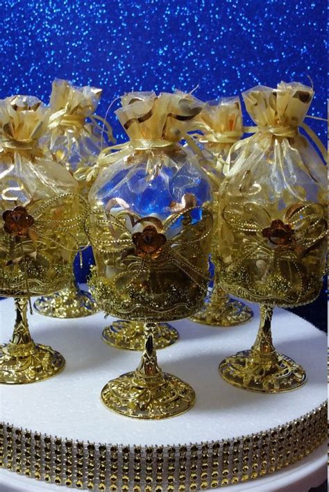 12 new royal gold cups favors royal prince by