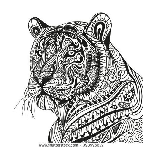 tiger mandala coloring pages 57 best coloring pages images on pinterest coloring
