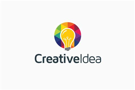 ideas logo creative idea bulb logo logo templates on creative market