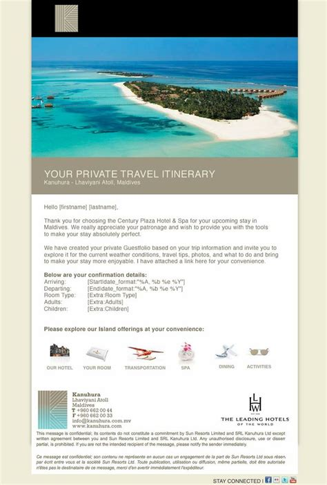 Hotel Confirmation Email Template hotel pre arrival confirmation email templates