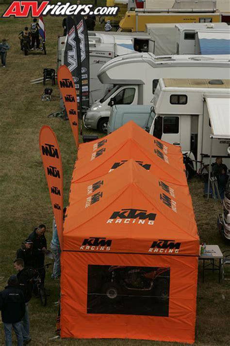 Ktm Tent 2010 United Kingdom Ktm Atv Motocross Racer Line Up Announced