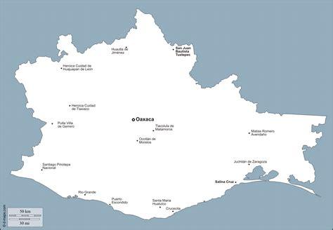 mapa de oaxaca mexico image gallery oaxaca mapa