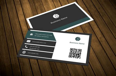 modern business card template vertical free vertical corporate business card template