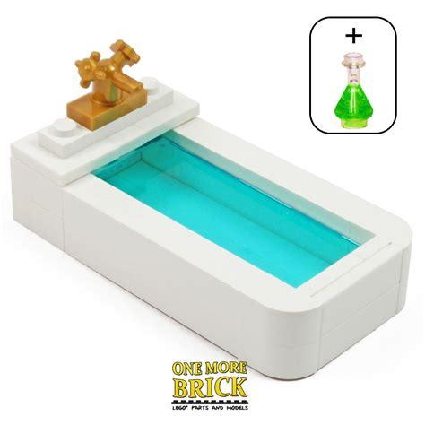 bathroom bathtub lego bath bathroom bathtub flask minifig furniture