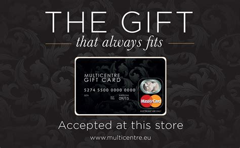 Multicentre Gift Card - manor west