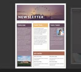 Template Newsletter Word by 25 Best Ideas About Newsletter Template Free On