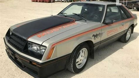 ebay find  mileage  ford mustang indy pace car