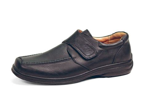 comfortable shoes for elderly men men s hook and loop washable shoe buck buck