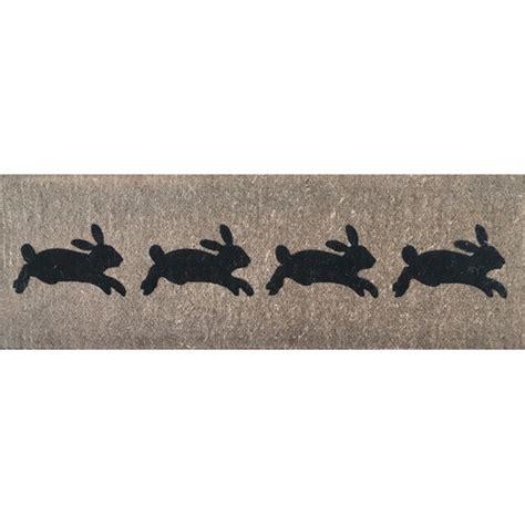 Rabbit Doormat by Rabbits Doormat Temple Webster