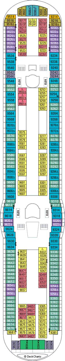 adventure of the seas floor plan adventure of the seas cruise ship deck plans on cruise critic
