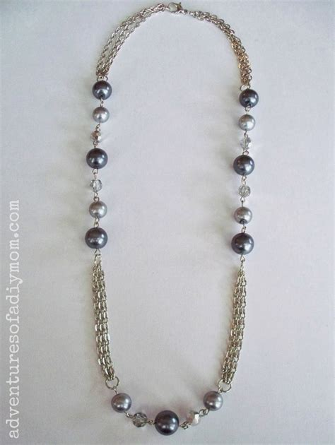 how to make a chain and bead necklace adventures of a