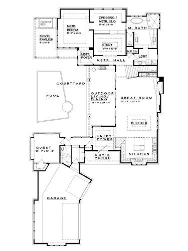15 affordable home plans u shaped eplans shingle house prairie style c shaped house design pinterest house