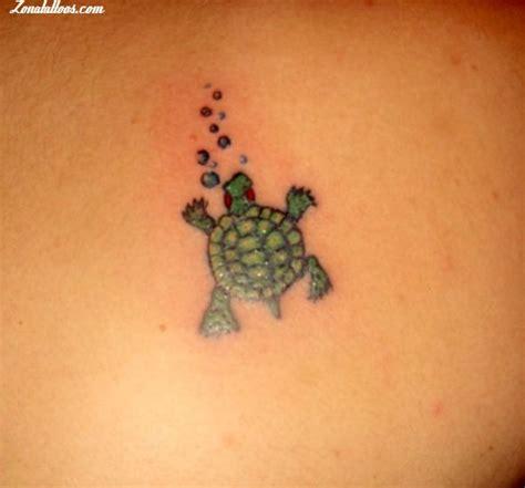 tatuaje de tortugas
