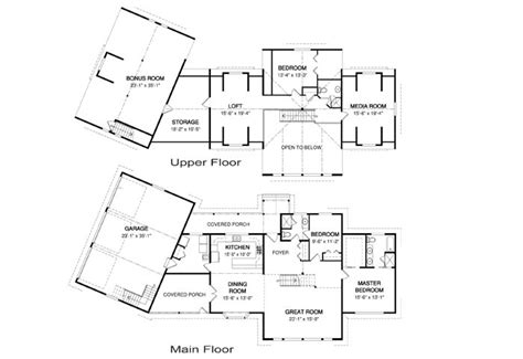 craftsman house floor plans plan drawing garage plans eplans diy