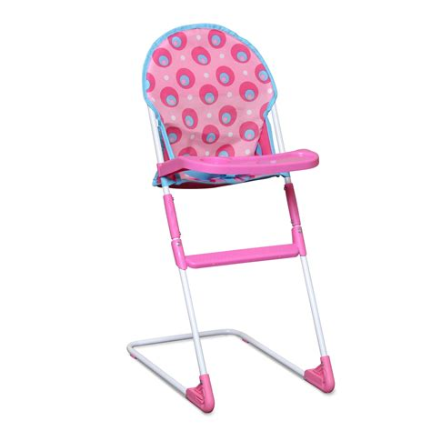 deluxe doll high chair pink kmart